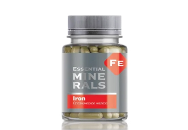 Essential Minerals Iron (Fe)